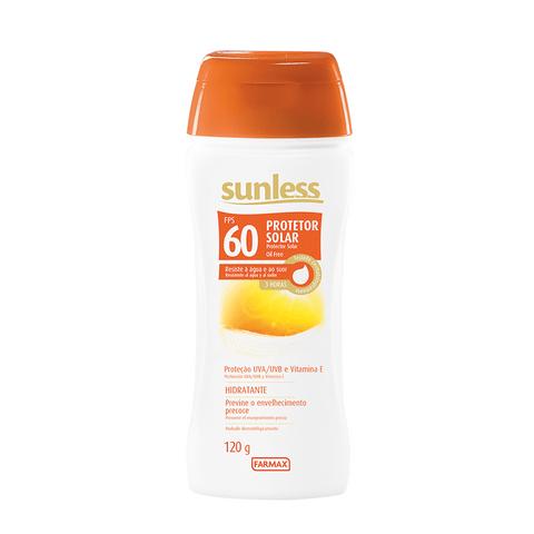 PROTETOR-SOLAR-OIL-FREE-FPS60-SUNLESS-120G