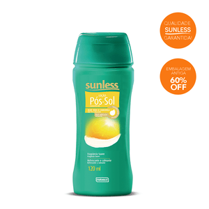 LOCAO-POS-SOL-SUNLESS-120ML