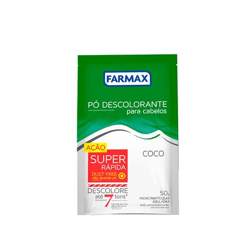 PO-DESCOLORANTE-CAPILAR-COCO-FARMAX-50G